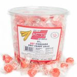 Soft Flavored Peppermint Puffs Candy Balls - [Cinnamon Flavor] 27oz Tub, Bulk Individually Wrapped Mints, For Office, Break Room, Business - Fat-Free, Cholesterol-Free, Gluten-Free 3