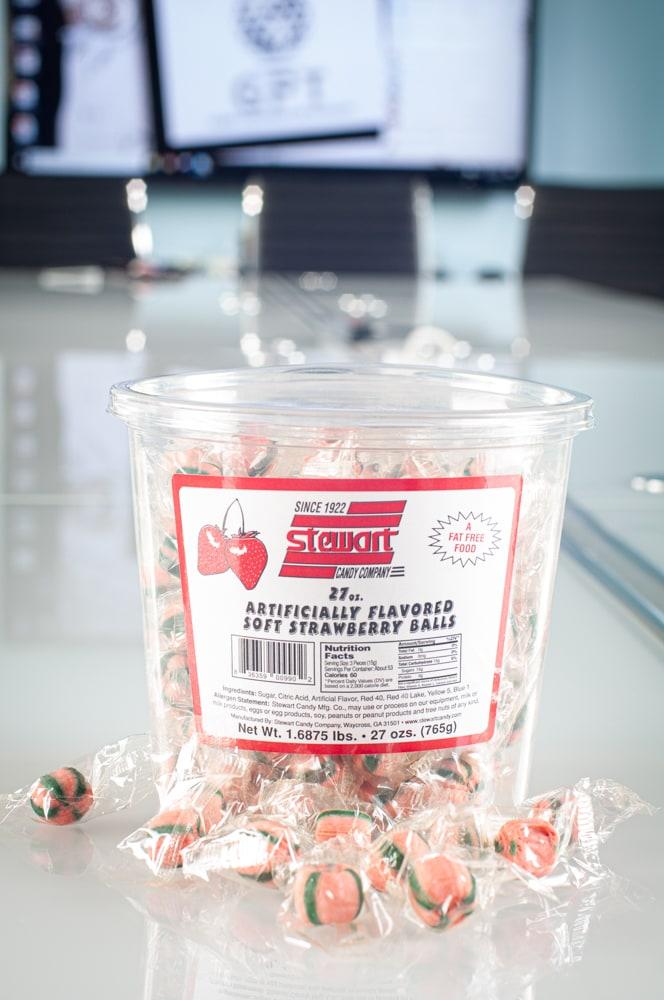 Soft Strawberry 160ct Tub 1