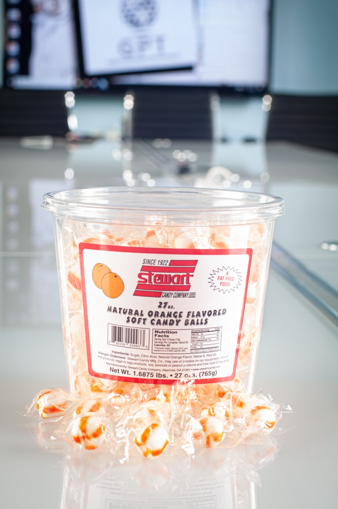 Soft Orange 160ct Tub