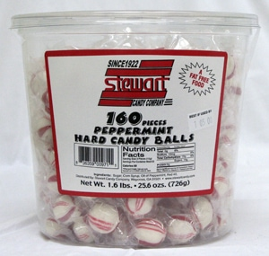 Hard Peppermint 160ct Tub