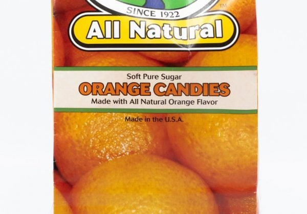 All Natural Soft Orange 12/8oz Bags 1