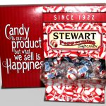 Soft Peppermint Counter Display