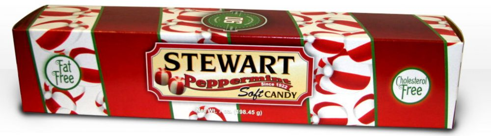 Soft Peppermint Holiday Gift Carton